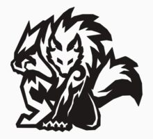 Tribal Werewolf Kids Tee