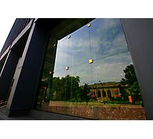 Reflection of the Museum Photographic Print