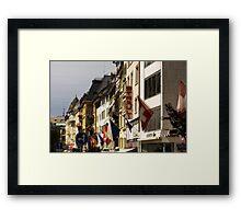 Zürich, Switzerland Framed Print