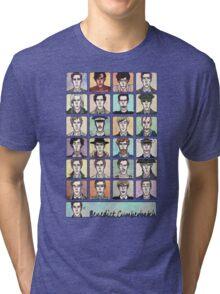Benedict Cumberbatch Faces Tri-blend T-Shirt