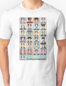Benedict Cumberbatch Faces T-Shirt