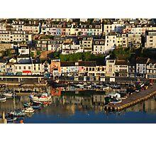 Brixham Harbour No1 Photographic Print