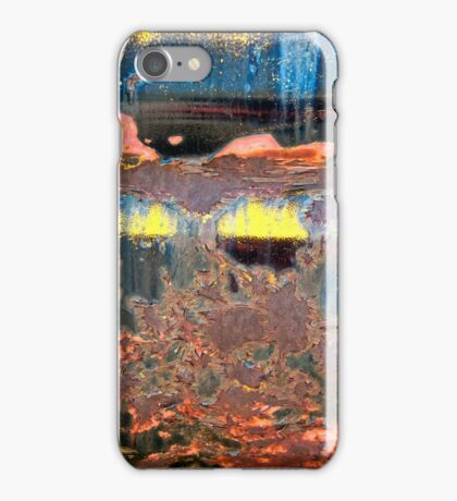 Sunrise Over the Lake Abstract iPhone Case/Skin