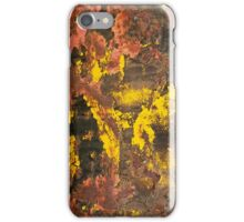 Desert in Bloom Abstract iPhone Case/Skin