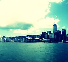 Waiting For The Star Ferry by michaelajf