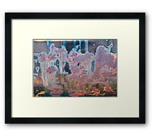 The Swamp Fairies Abstract Framed Print