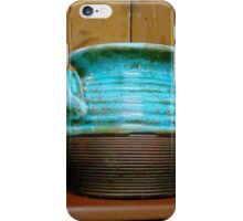 Pueblo Blue Pottery ^ iPhone Case/Skin