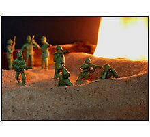 War Games Photographic Print