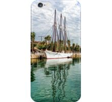 Yachts and Palm Trees - Impressions of Barcelona  iPhone Case/Skin
