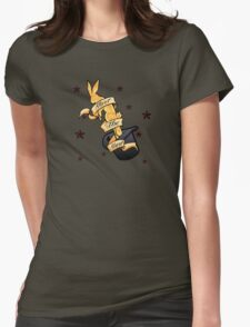 Magic Rabbit Womens Fitted T-Shirt