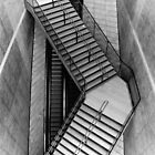 Stairs at Liverpool One by Manuel Gonçalves