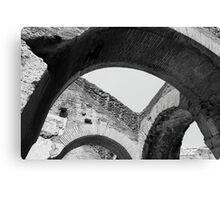 Arches of Roman History Canvas Print