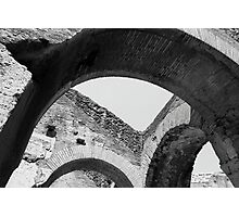 Arches of Roman History Photographic Print