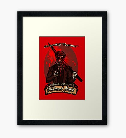 Phineas Gage Framed Print