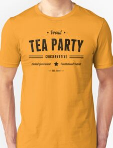 Tea Party Conservative T-Shirt