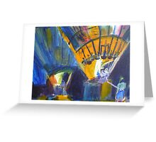 Night Balloons in Temecula Greeting Card