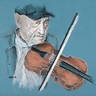 Fiddle Player by Michael Beckett