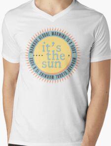 Its The Sun Mens V-Neck T-Shirt