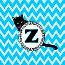 Z Cat Chevron Monogram by gretzky