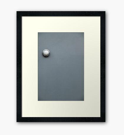 Simply Pi-r-squared Framed Print