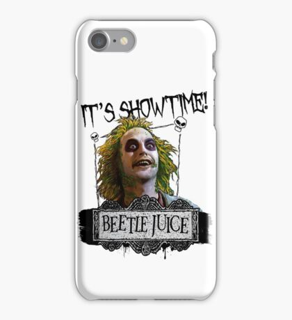 Beetlejuice - It's Showtime iPhone Case/Skin