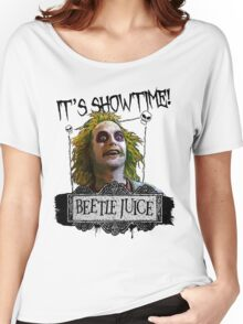 Beetlejuice - It's Showtime Women's Relaxed Fit T-Shirt