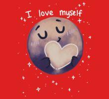 Pluto - I love myself One Piece - Short Sleeve
