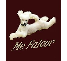 Me Falcor: Neverending Story Flying Poodle  Photographic Print