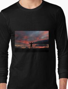Fiery sky Long Sleeve T-Shirt