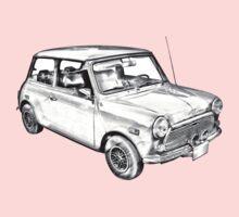 Mini Cooper Illustration Kids Tee