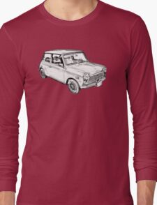 Mini Cooper Illustration Long Sleeve T-Shirt