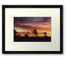 just another day in paradise Framed Print