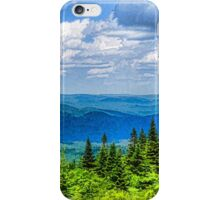 Just Breathe Deeply - Impressions of Mountains iPhone Case/Skin