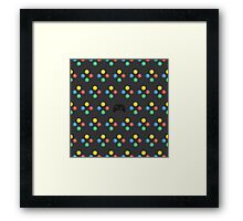 XBOX One Pattern Framed Print