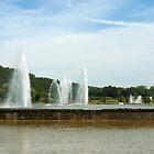 Fountains in a dream garden  by steppeland