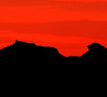 The cobbler sunset by Stuart-Crawford