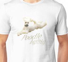 Poodle Agility Unisex T-Shirt