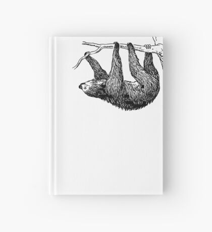 Vintage Sloth Hardcover Journal