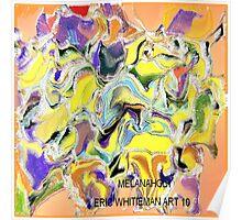 ( MELANAHOLY )   ERIC WHITEMAN ART  Poster