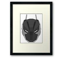 Arkham Knight Mask Framed Print