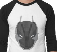 Arkham Knight Mask Men's Baseball ¾ T-Shirt