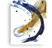 Oil and Water #51 Canvas Print