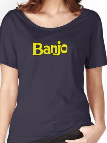 Banjo - retro biscuit wafer chocolate Women's Relaxed Fit T-Shirt