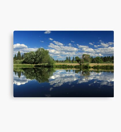 Hat Creek Reflections Canvas Print