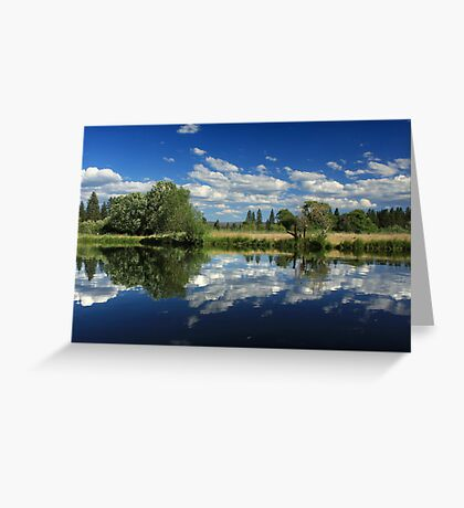 Hat Creek Reflections Greeting Card