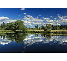 Hat Creek Reflections Photographic Print