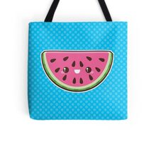 Kawaii Watermelon Slice Tote Bag