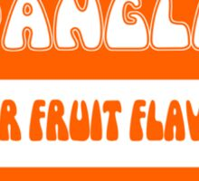Super Fruit Flavoured Spangles 1970s retro boiled sweets Sticker