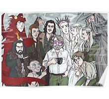 Hobbit Party Poster