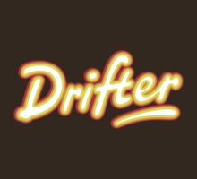 Retro Rowntree's Drifter chocolate bar pack logo by unloveablesteve
